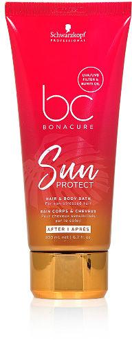 Schwarzkopf BC Sun Protect Szampon do włosów i ciała, z filtrami UV 200 ml