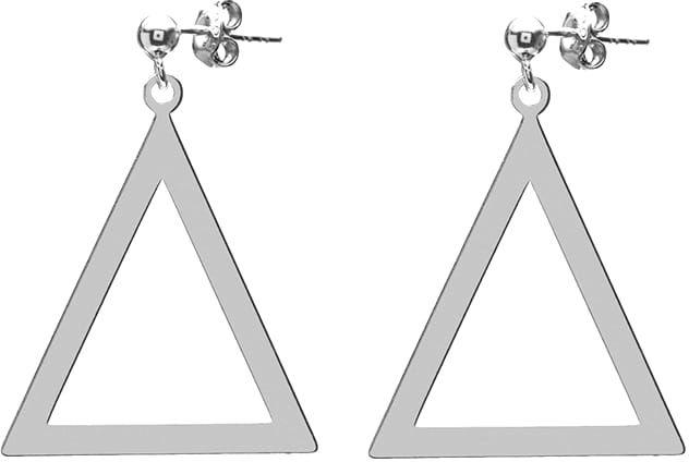 Kolczyki trójkąty