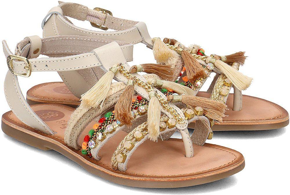 Gioseppo - Sandały Dziecięce - 40686-01 WHITE - Biały