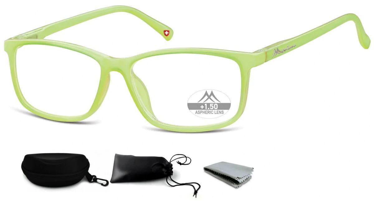 Asferyczne Okulary do Czytania Montana Plusy MR62D moc:+3
