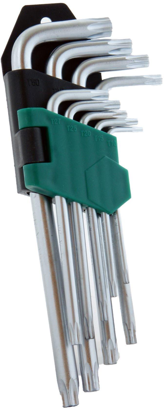 Klucze imbusowe TORX T15-T50 krótkie DIAMANTO