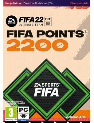 Karta Pre-paid FIFA 22 2200 FIFA Points PC. > DARMOWA DOSTAWA ODBIÓR W 29 MIN DOGODNE RATY