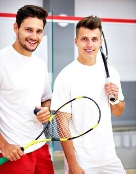 Indywidualny trening squasha dla dwóch osób  Kraków