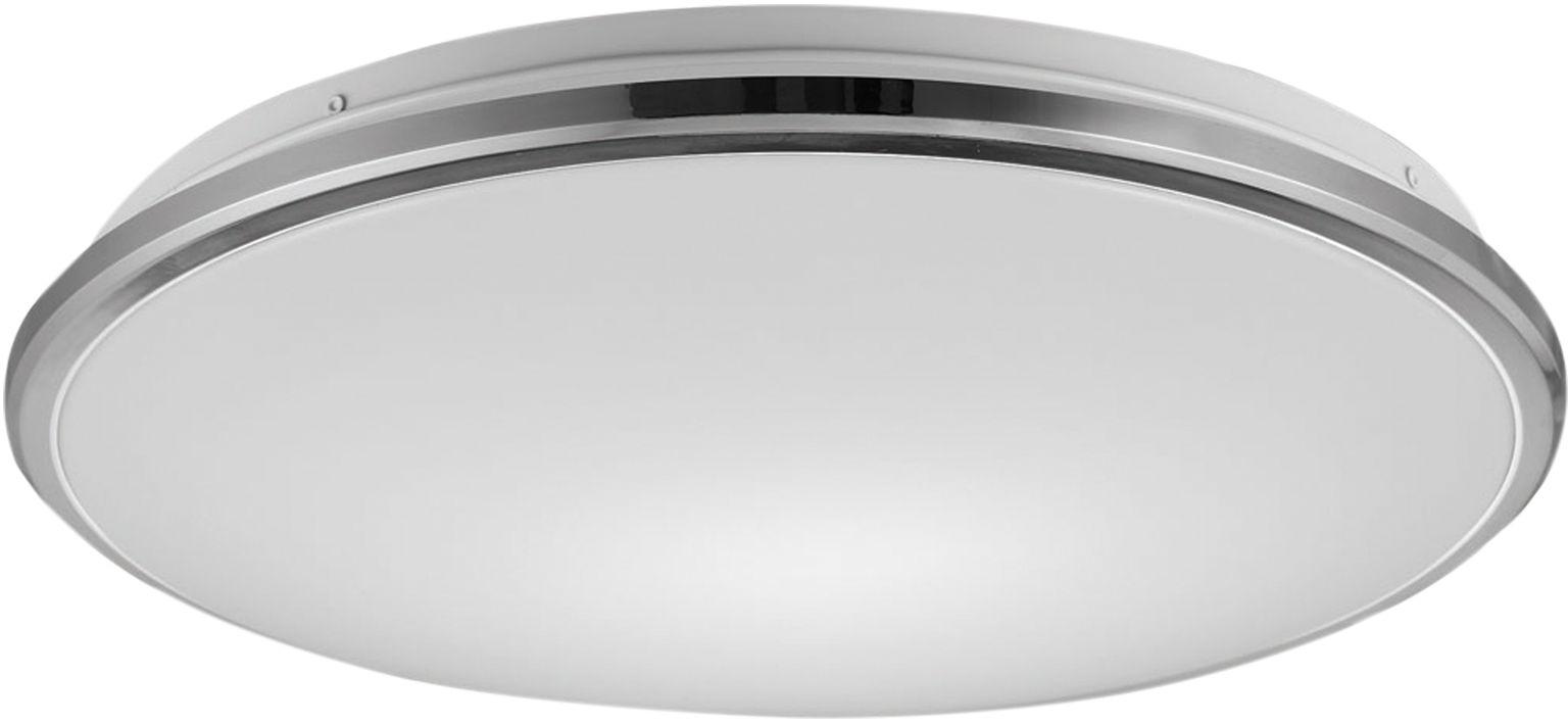 Bellis plafon LED okrągły mały 33cm chrom 12080021 - Zuma Line // Rabaty w koszyku i darmowa dostawa od 299zł !