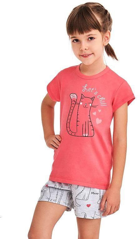 Piżama dziewczęca Hania różowa Lets