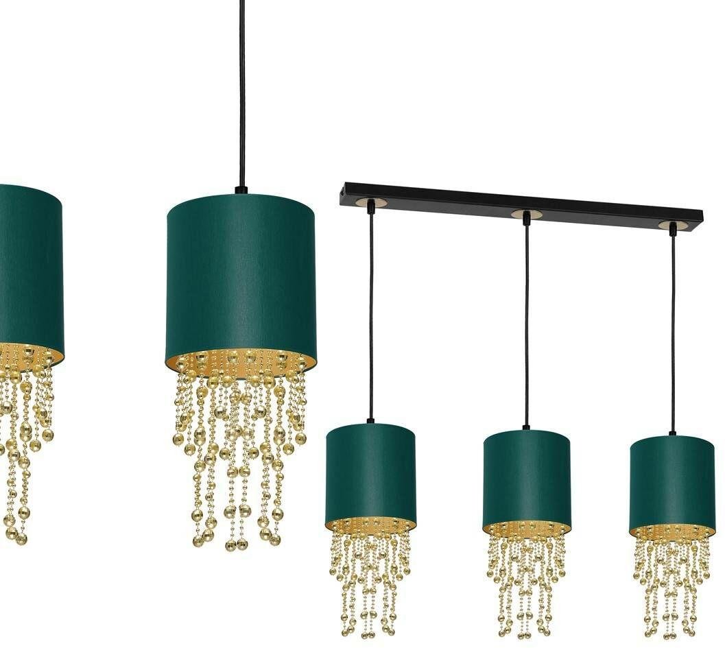 Lampa wisząca ALMERIA GREEN/GOLD 3xE27