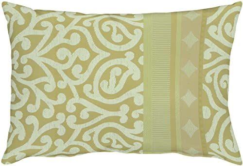 """APELT Prato_35x50_25 poduszka """"tkanina żakardowa z ornamentem"""", beżowa"""