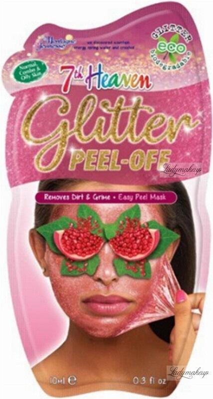 7th Heaven (Montagne Jeunesse) - Glitter - Peel Off Mask - Brokatowa maseczka do twarzy - Peel Off