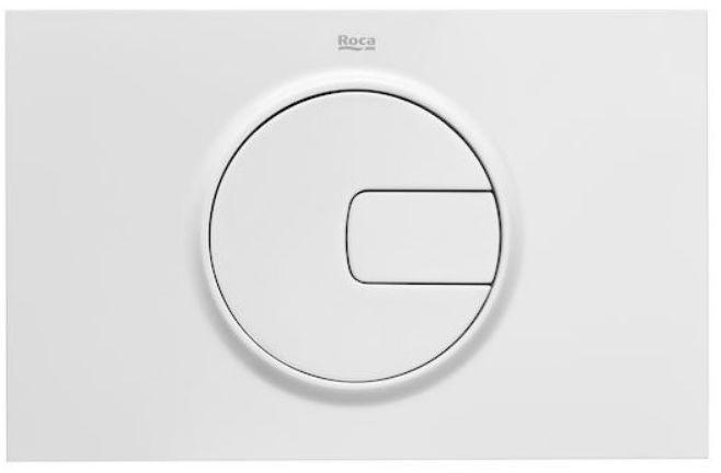 Roca Duplo One PL4 przycisk spłukujący podwójny biały A890198000