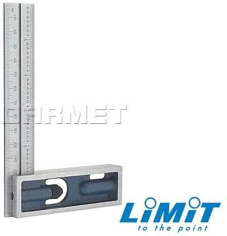 Kątownik regulowany z przesuwnym ramieniem 150x100 mm - Limit 151250206