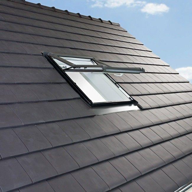 Okno dachowe Premium 78 x 118 cm białe
