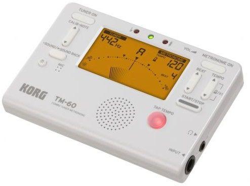 Korg TM60 White Tuner/Metronom