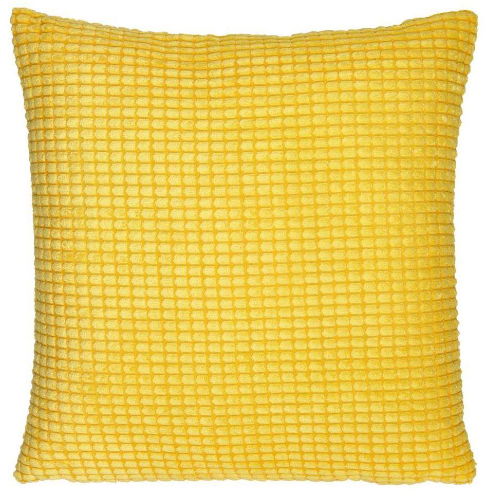 Poduszka Mety żółta 45 x 45 cm Inspire