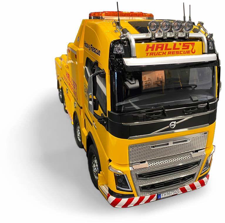 TAMIYA 56362 1:14 Volvo FH16 holownik 8 x 4, zestaw do montażu, ciężarówka RC, zdalnie sterowany, samochód ciężarowy, zabawka konstrukcyjna, budowa modeli, majsterkowanie