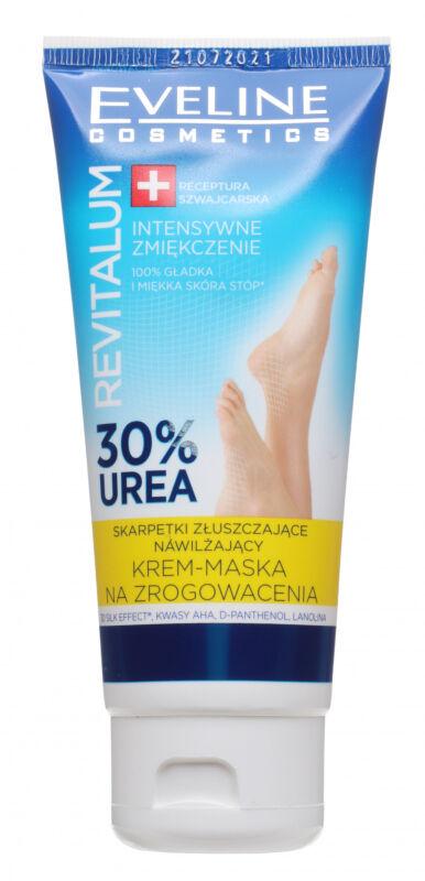 Eveline Cosmetics - REVITALUM - Nawilżający krem-maska do stóp, na zrogowacenia - 100 ml