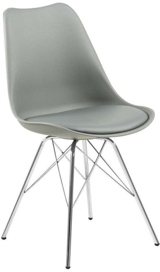 Krzesło Eris PP szare