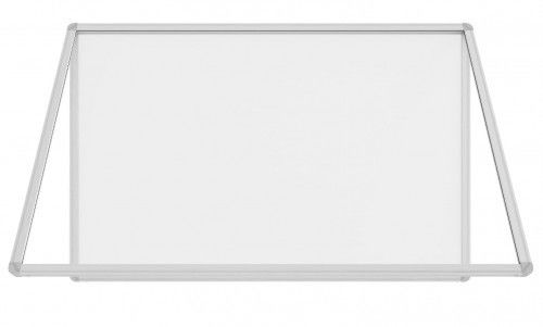 Gablota ogłoszeniowa informacyjna 120x90cm magnetyczna suchościeralna w aluminiowej ramie