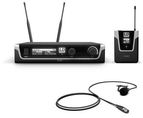 LD Systems U518 BPL mikrofon bezprzewodowy krawatowy