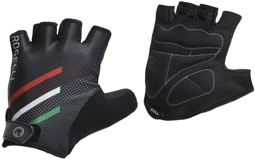 ROGELLI TEAM 2.0 rękawiczki rowerowe czarne Rozmiar: XL,sdsd4354