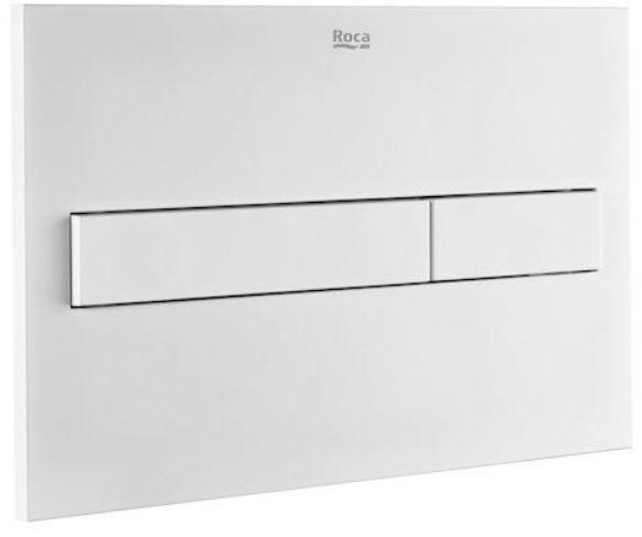 Roca Duplo One PL7 przycisk spłukujący podwójny biały mat A890188207