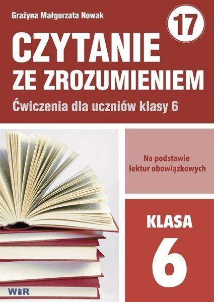Czytanie ze zrozumieniem dla klasy 6n, - Grażyna Małgorzata Nowak