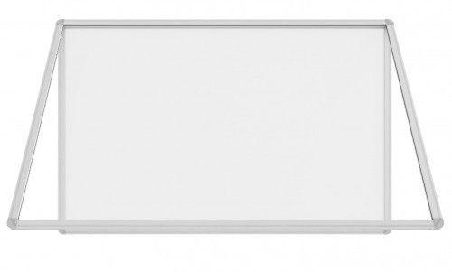 Gablota ogłoszeniowa informacyjna 90x60cm magnetyczna suchościeralna w aluminiowej ramie