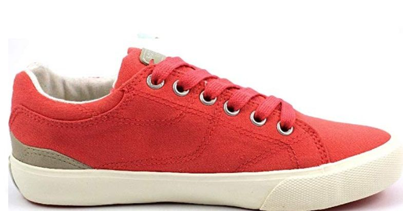 Damskie tenisówki SOCCXSCU-1755-8191 Glossy Red