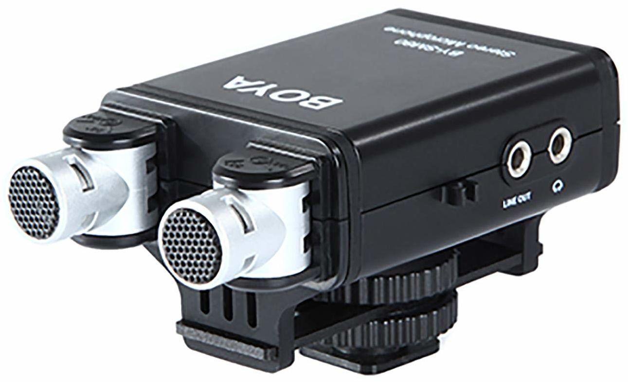 Boya BY-SM80 mikrofon stereo do aparatu DSLR