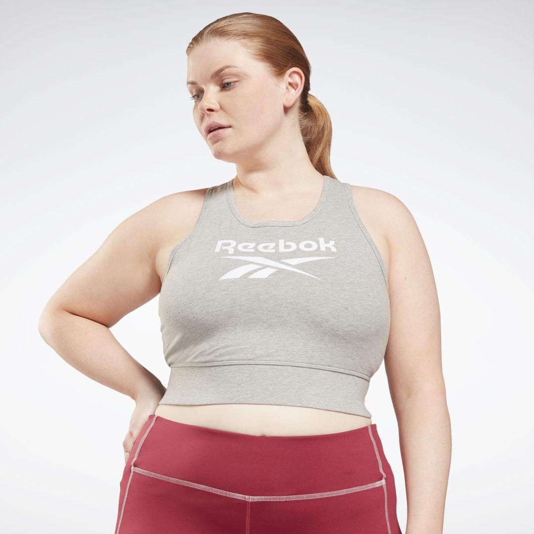 Stanik sportowy Reebok Identity (plus size)