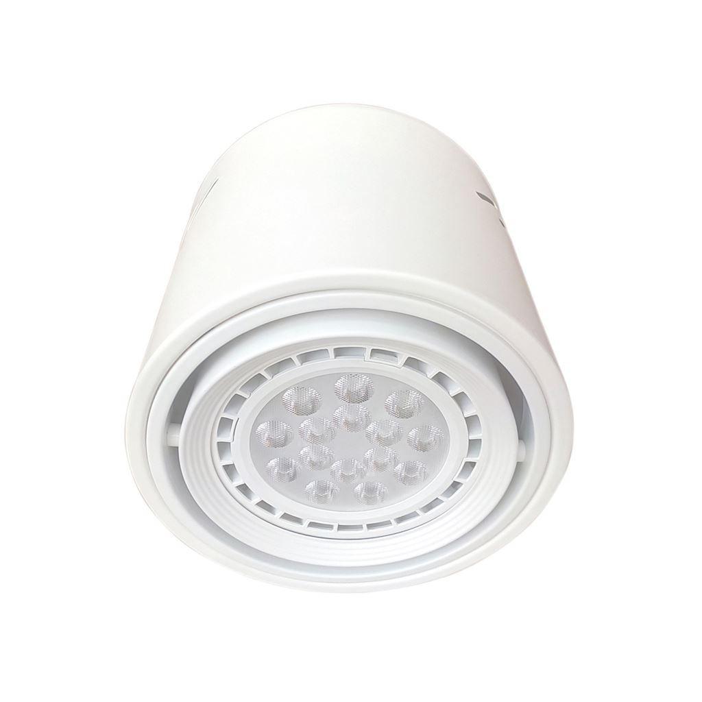 Downlight TUBO biały regulowany 12W LED AR111 tuba ML226 - Milagro Do -17% rabatu w koszyku i darmowa dostawa od 299zł !