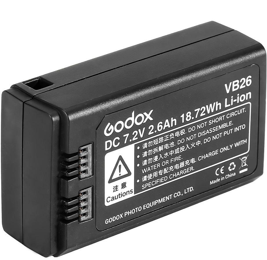 Akumulator Godox VB26 (7.2V, 2600mAh) do lamp błyskowych V1