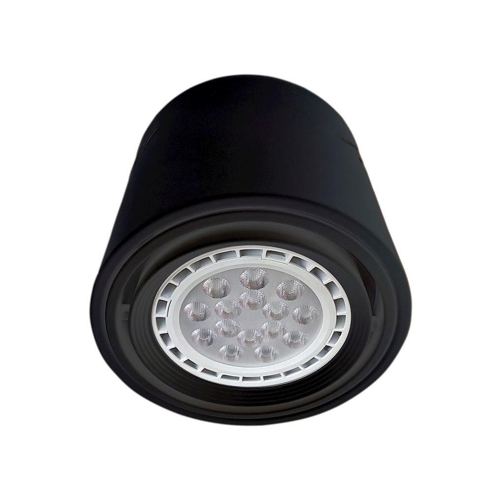 Downlight TUBO czarny regulowany 12W LED AR111 tuba ML227 - Milagro Do -17% rabatu w koszyku i darmowa dostawa od 299zł !