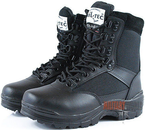 Mil-Tec Buty Taktyczne SWAT Czarne