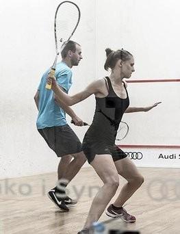 Indywidualny trening squasha dla dwóch osób  Białystok