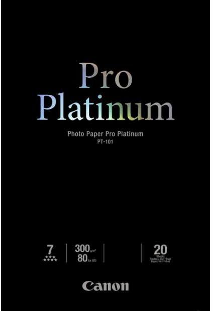 Papier CANON Pro Platinum PT-101 300 g/m2 - A3+, 10 arkuszy (2768B018)