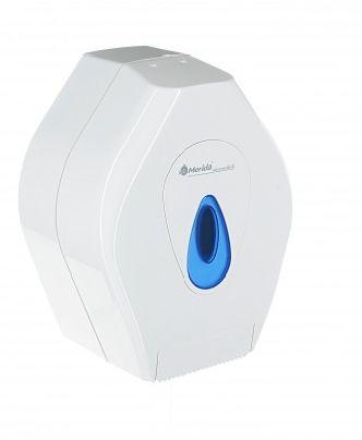 Pojemnik na papier toaletowy Merida Top mini, okienko niebieskie