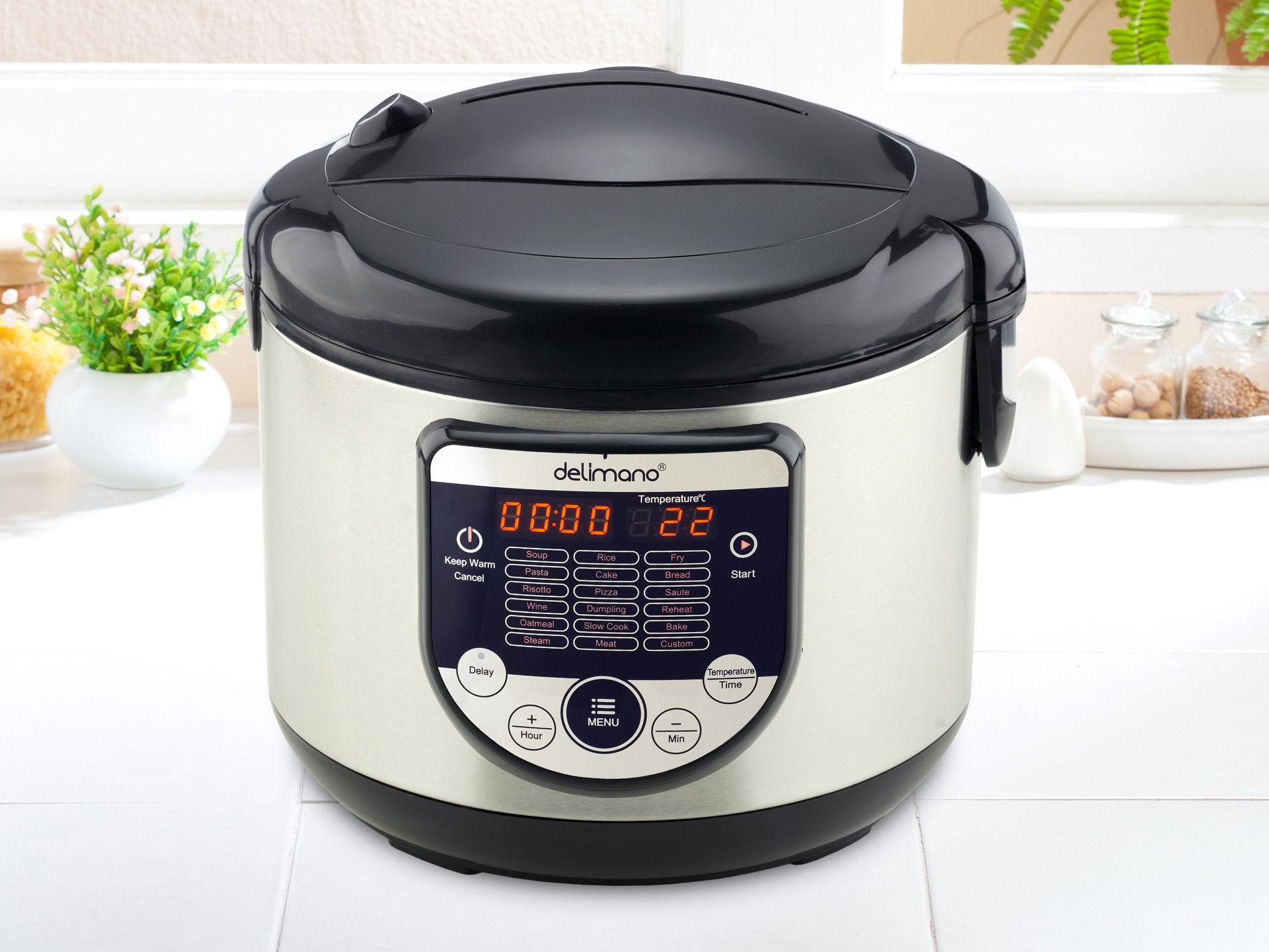 Delimano Wielofunkcyjne urządzenie do gotowania 18w1