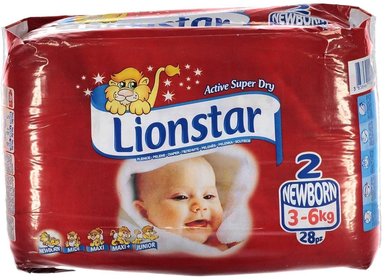 Pieluszki LIONSTAR Unisex Kids