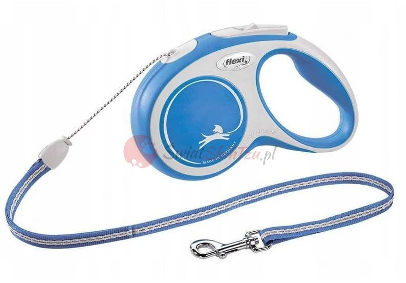 Flexi smycz New Comfort S Linka 5m Niebieska