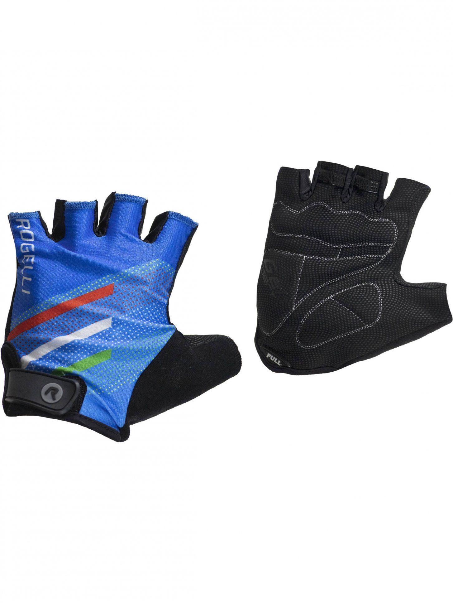 ROGELLI 006.960 TEAM 2.0 rękawiczki rowerowe niebieskie Rozmiar: S,006.960blue