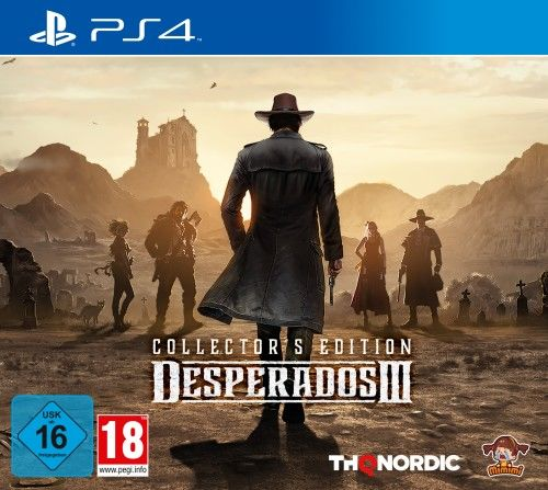 Desperados III Collector''s Edition PS 4
