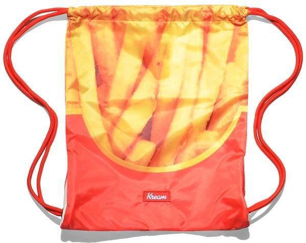 worek na plecy KREAM - Kream Pum Fizz Bag Red/Yellow (6200