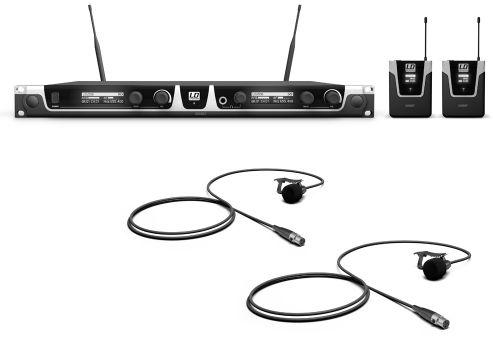LD Systems U 506 BPL (655 - 679 MHz ) mikrofon bezprzewodowy krawatowy, podwójny