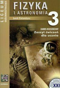 Fizyka i astronomia 3 zeszyt ćwiczeń
