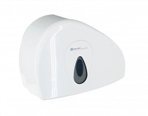 Pojemnik na papier toaletowy Merida Top Duo, okienko szare