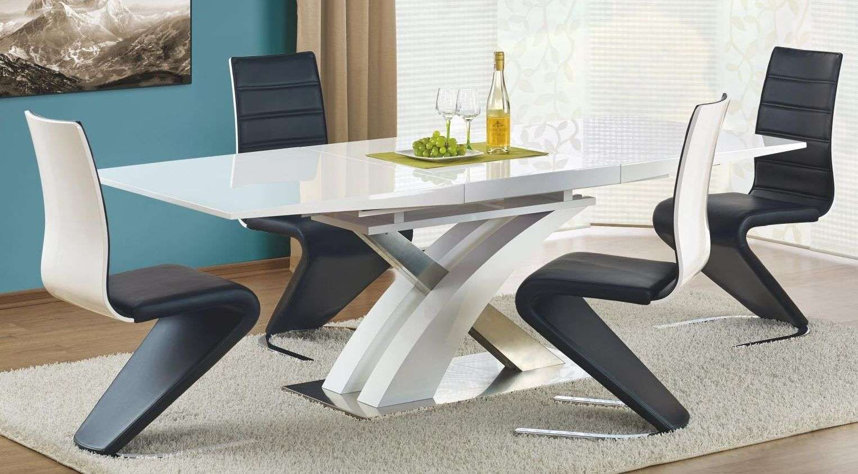 Zestaw: stół rozkładany Sandor i 4 krzesła K194 Halmar