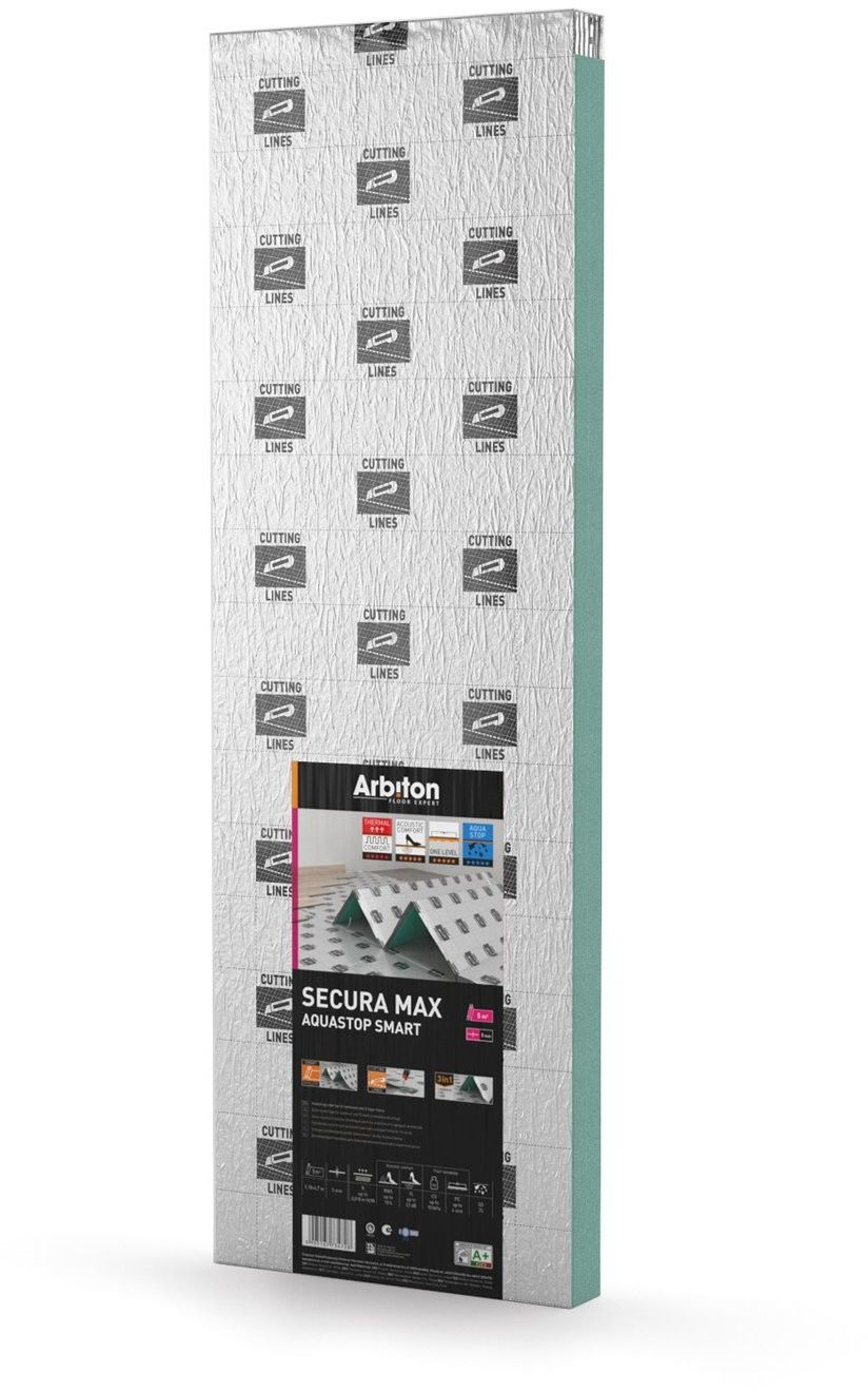 Podkład pod panele Arbiton Aquastop Max 5 mm 5,5 m2