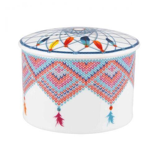 Szkatułka cukiernica porcelanowa Atrapasuenos Vista Alegre