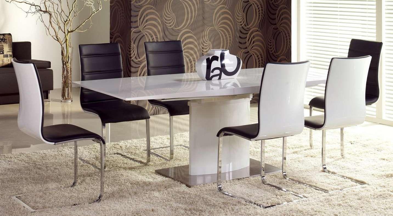Zestaw: stół rozkładany Marcello i 4 krzesła K104 Halmar