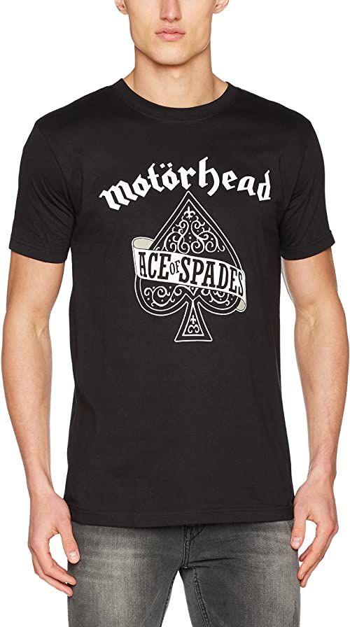 MERCHCODE Motörhead Ace Of Spades Tee T-shirt męski czarny czarny X-S